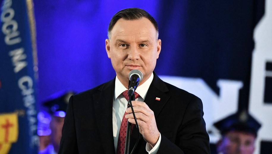 Andrzej Duda /Grzegorz Michałowski   /PAP