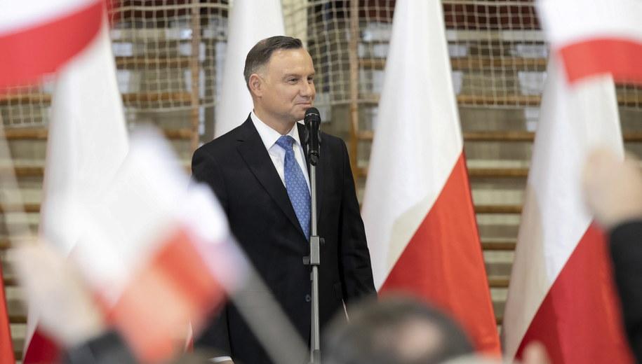 Andrzej Duda /Jacek Szydłowski /PAP