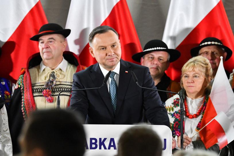 Andrzej Duda /Maciek Jonek /Reporter
