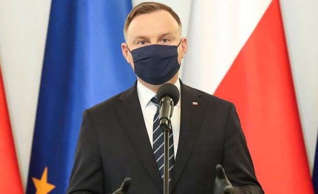 Andrzej Duda /Grzegorz Jakubowski /PAP