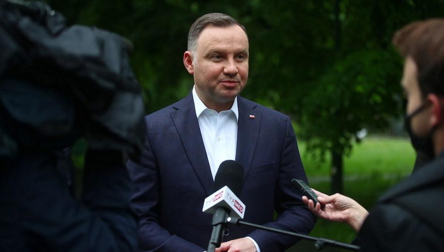 Andrzej Duda //Łukasz Gągulski /PAP
