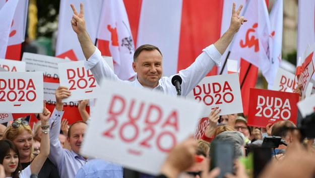 Andrzej Duda /Wojtek Jargilo /PAP