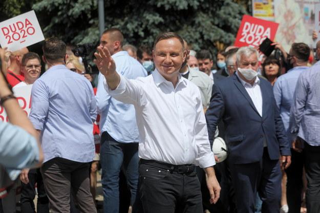Andrzej Duda / Artur Reszko    /PAP