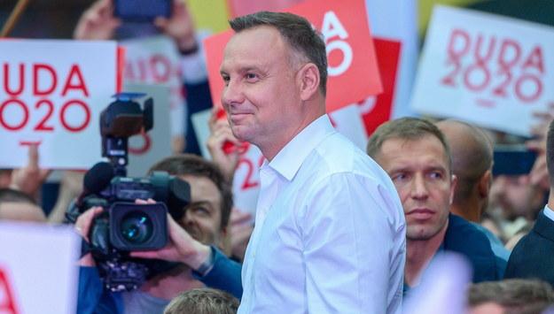 Andrzej Duda /Paweł Topolski /PAP