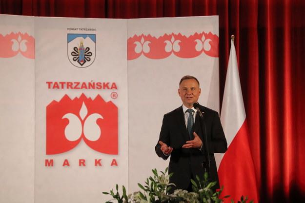 Andrzej Duda / Grzegorz Momot    /PAP