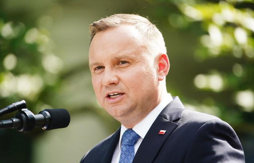 Andrzej Duda /JIM LO SCALZO /PAP/EPA