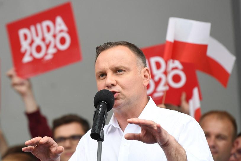 Andrzej Duda /Adam Warżawa /PAP