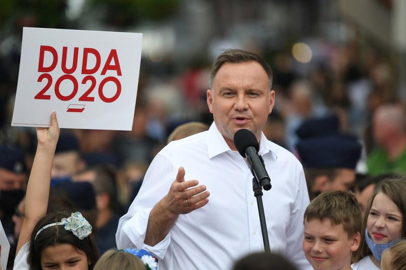 Andrzej Duda / Tytus Żmijewski    /PAP