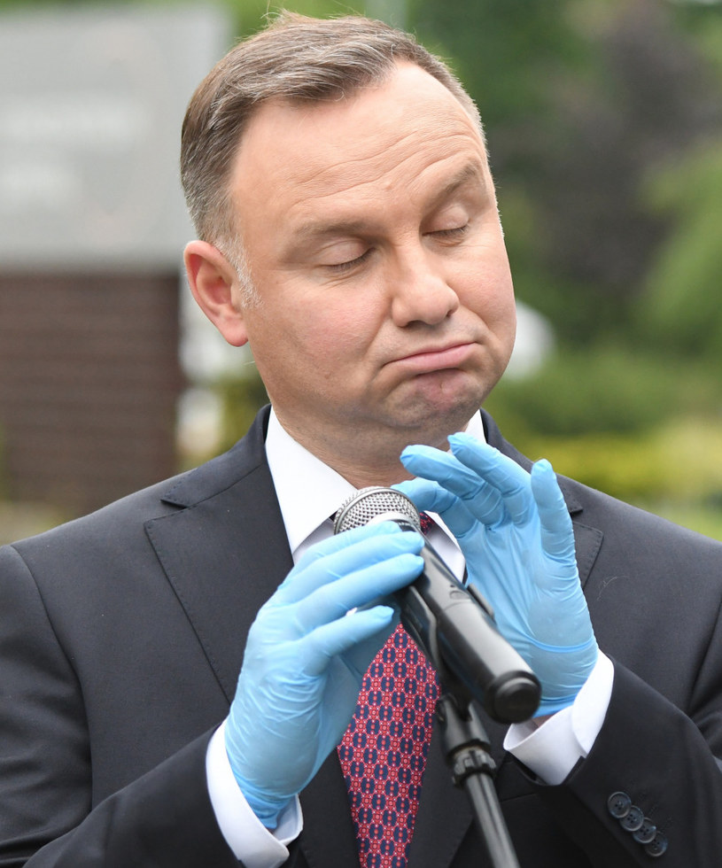 Andrzej Duda /Michal Dubiel /Reporter