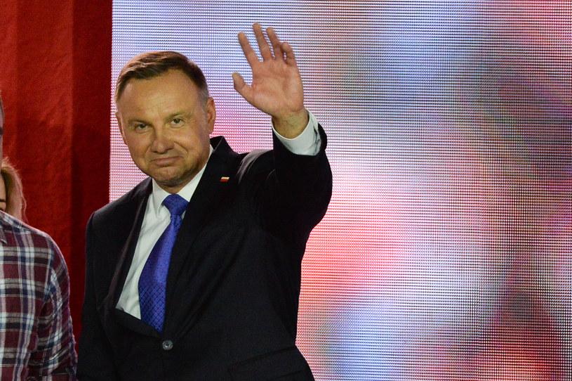 Andrzej Duda /Aleksiej Witwicki /Agencja FORUM
