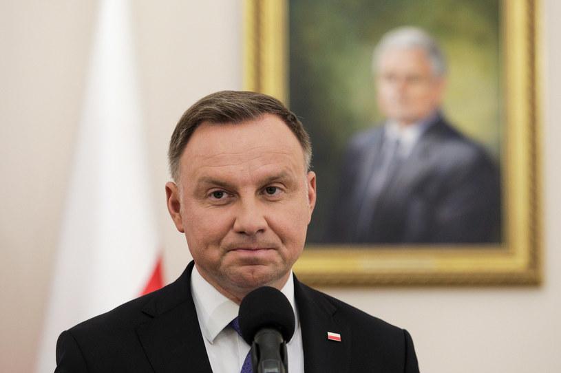 Andrzej Duda /Andrzej Hulimka  /Agencja FORUM