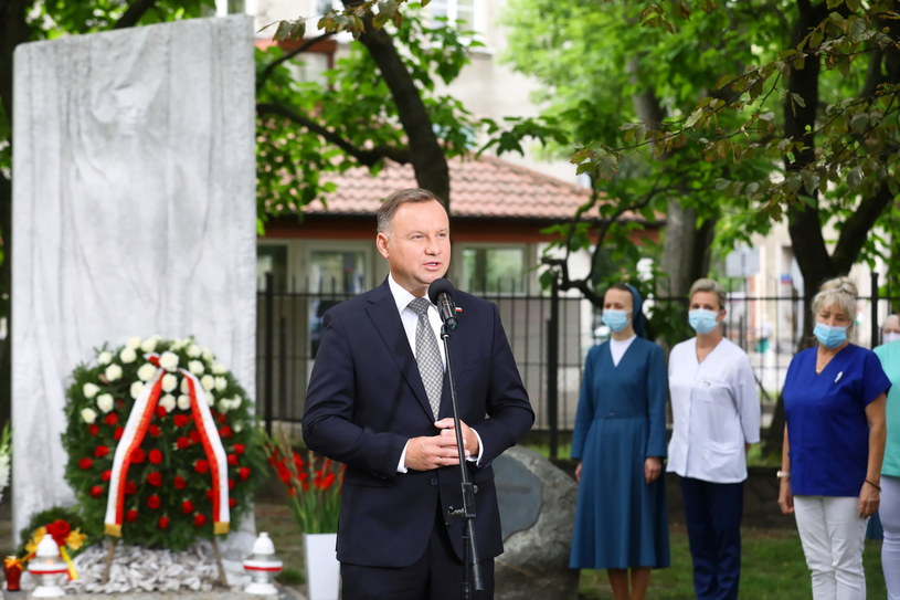 Andrzej Duda /Rafał Guz /PAP