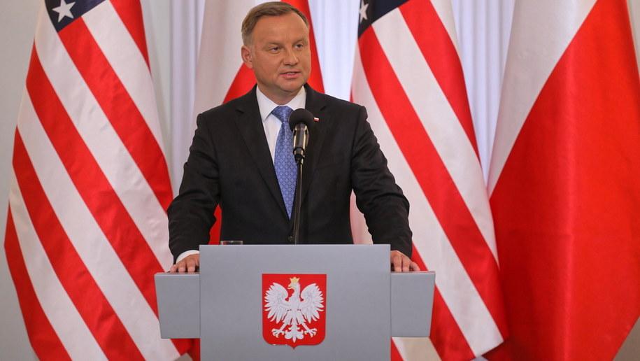 Andrzej Duda /Paweł Supernak /PAP