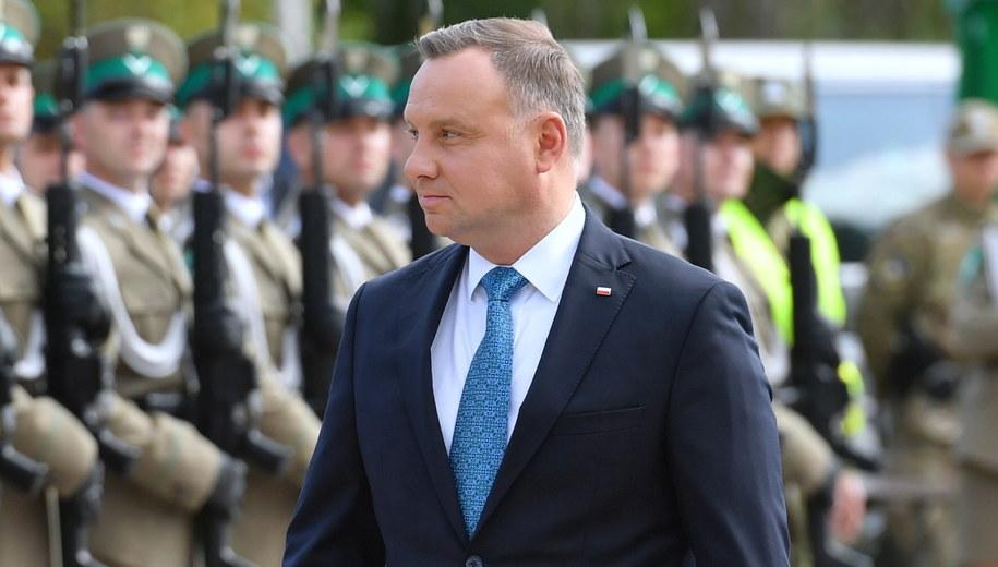 Andrzej Duda /Wojtek Jargiło /PAP