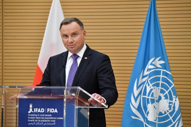 Andrzej Duda /ALESSANDRO DI MEO /PAP