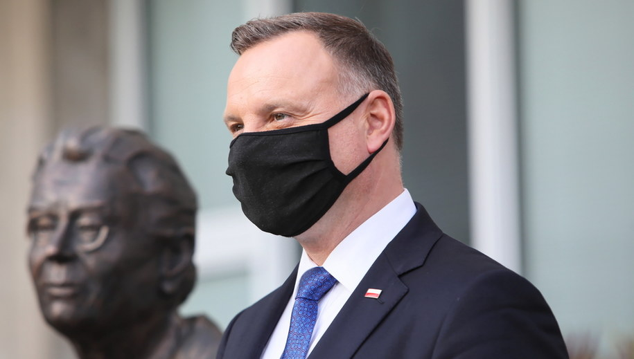Andrzej Duda / Leszek Szymański    /PAP
