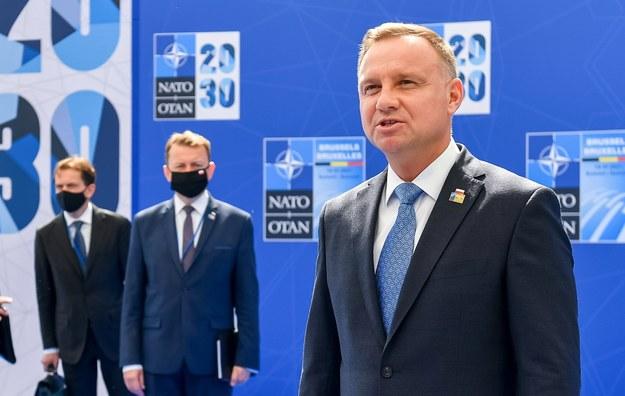 Andrzej Duda /Wojciech Król/MON /PAP