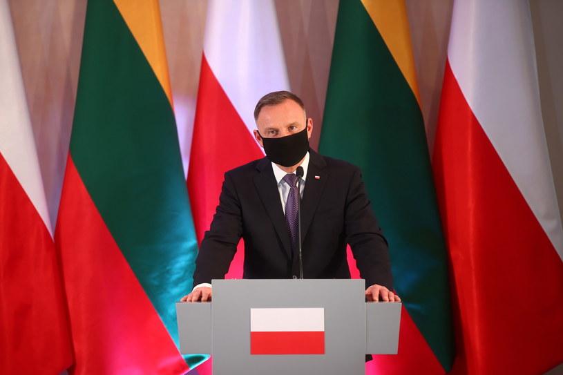Andrzej Duda /PAP/Łukasz Gągulski /PAP