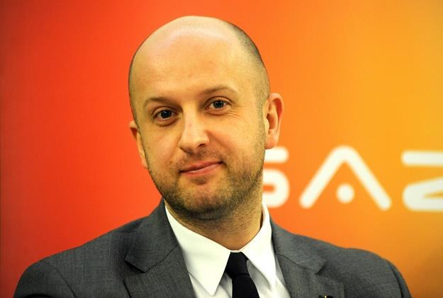 Andrzej Dycha z resortu gospodarki. Fot. Wojciech Stróżyk /Reporter
