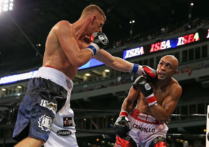 Andrzej Fonfara to czołowy polski bokser /AFP