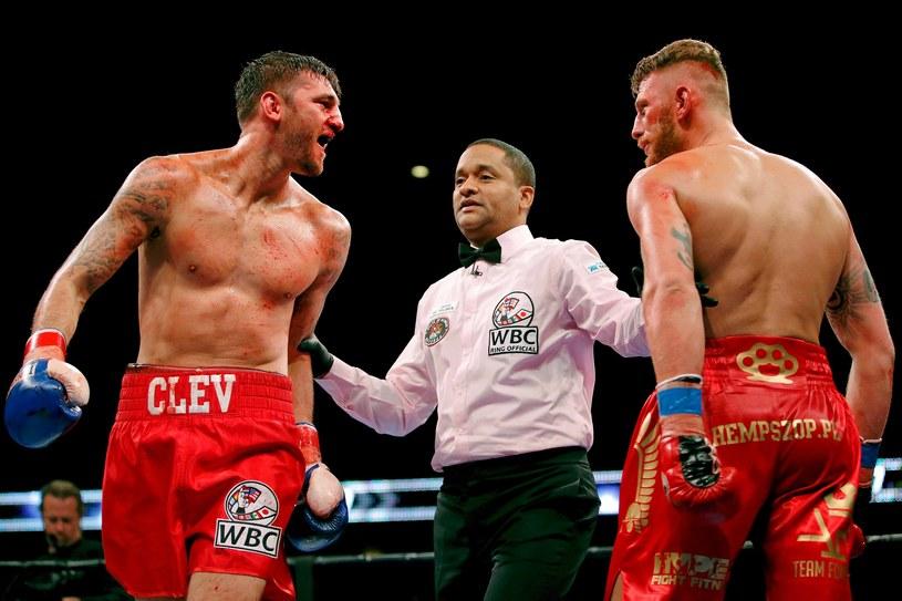 Andrzej Fonfara (z prawej) i Nathan Cleverly /AFP