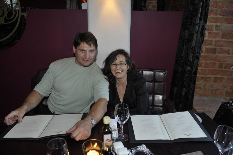 Andrzej Gołota i Mariola Gołota, 2010 rok /AKPA