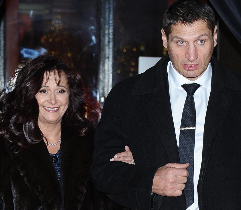 Andrzej Gołota z żoną Mariolą na najnowszych zdjęciach /Piotr Andrzejczak /MWMedia