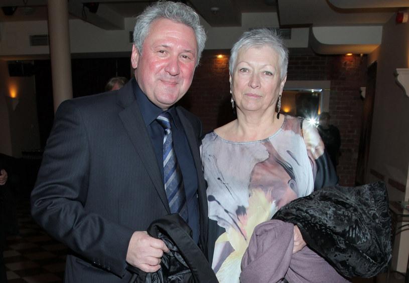 Andrzej Grabarczyk z żoną Zofią /Paweł Wrzecion /MWMedia