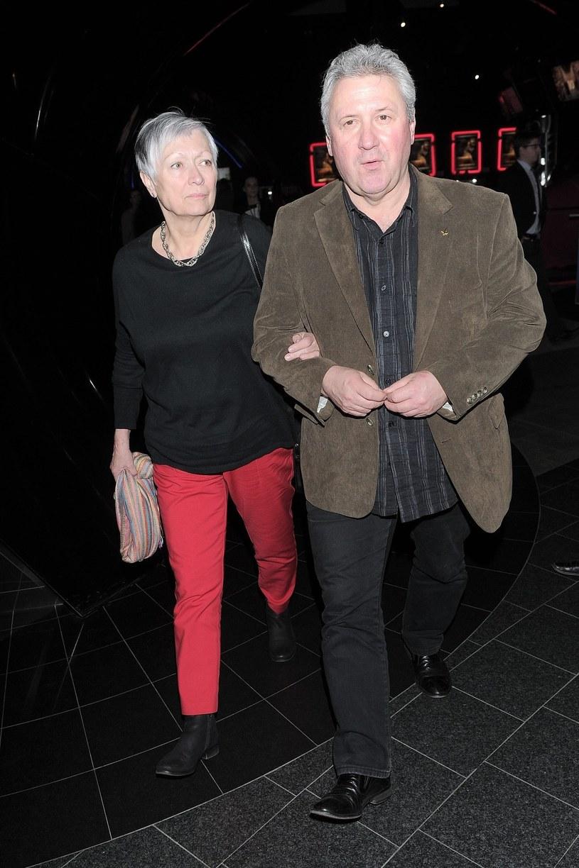 Andrzej Grabarczyk z żoną /East News