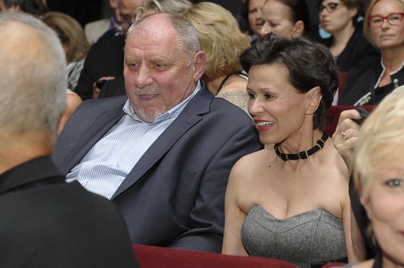 Andrzej Grabowski i Anita Kruszewska /Niemiec /AKPA