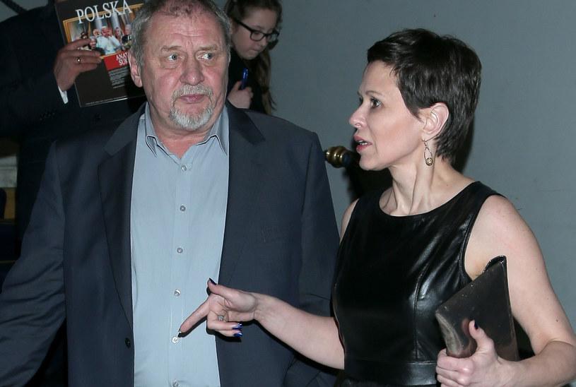 Andrzej Grabowski i Anita Kruszewska /Paweł Wrzecion /MWMedia