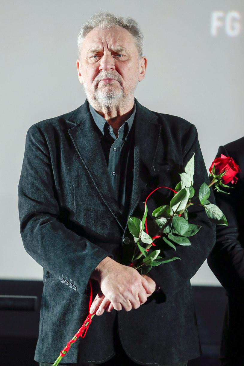 """Andrzej Grabowski na premierze filmu """"Bad Boy"""" /Podlewski /AKPA"""
