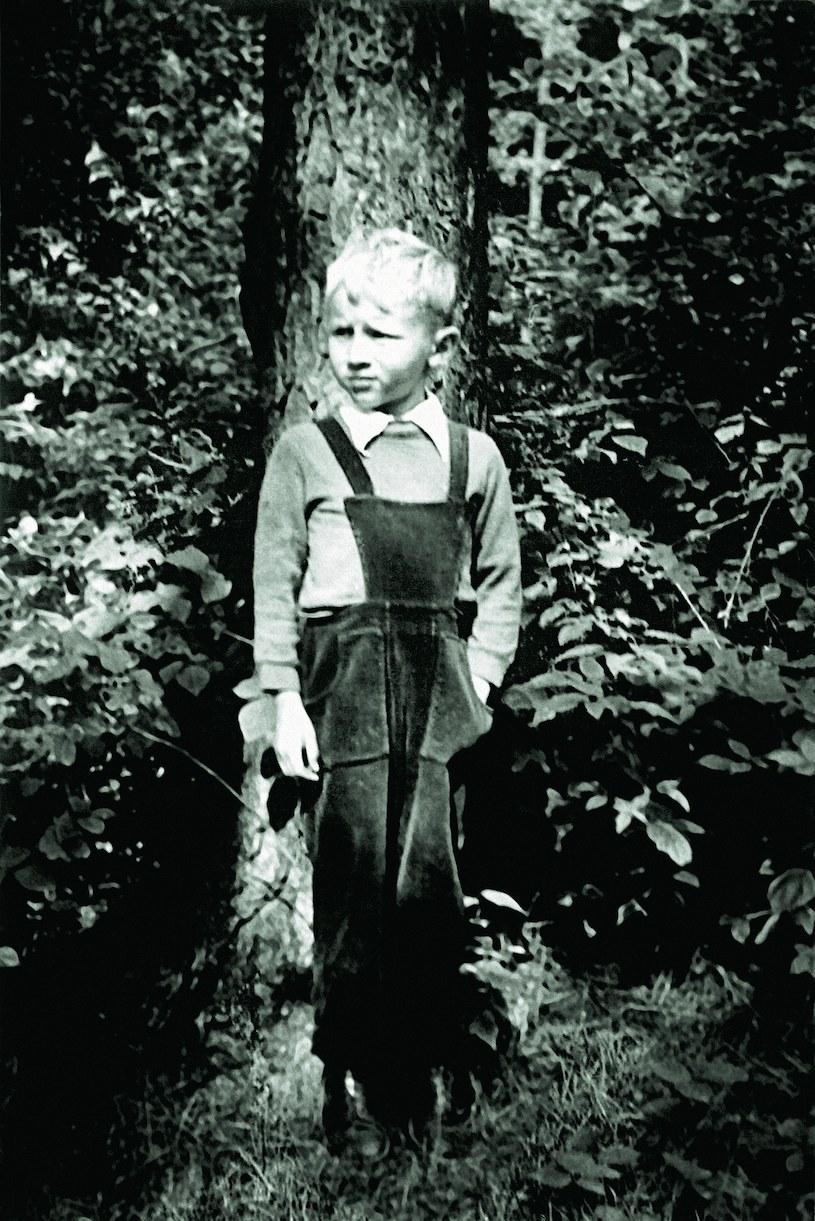 Andrzej Grabowski w wieku 6 lat /archiwum prywatne