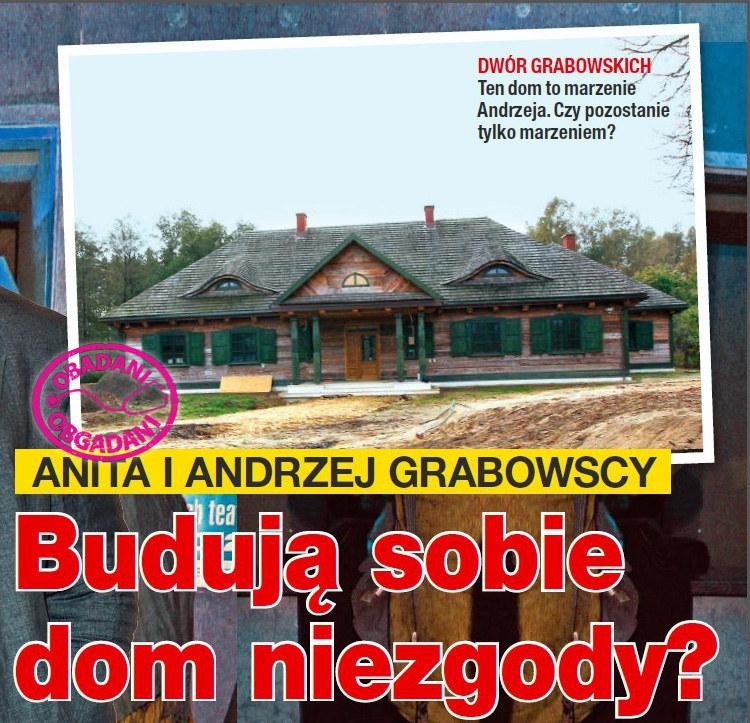 Andrzej Grabowski wybudował dom pod Grodziskiem /Na żywo