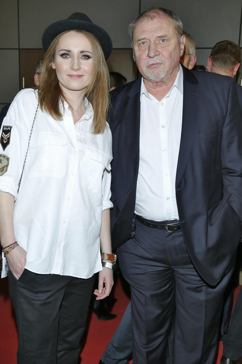 Andrzej Grabowski z córką Zuzanną Grabowską /Podlewski /AKPA