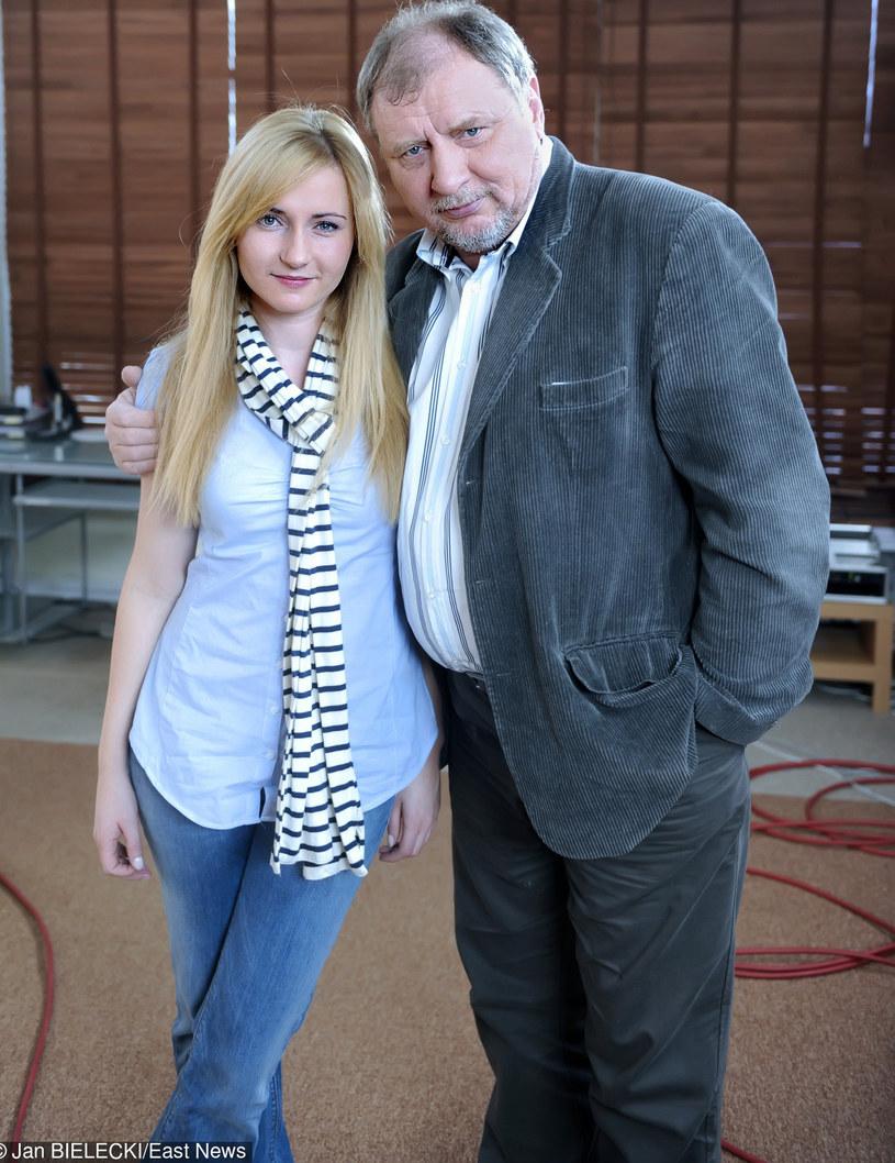Andrzej Grabowski z córką Zuzanną /Jan Bielecki /East News
