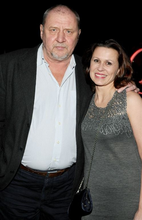 Andrzej Grabowski z żoną /Agencja W. Impact