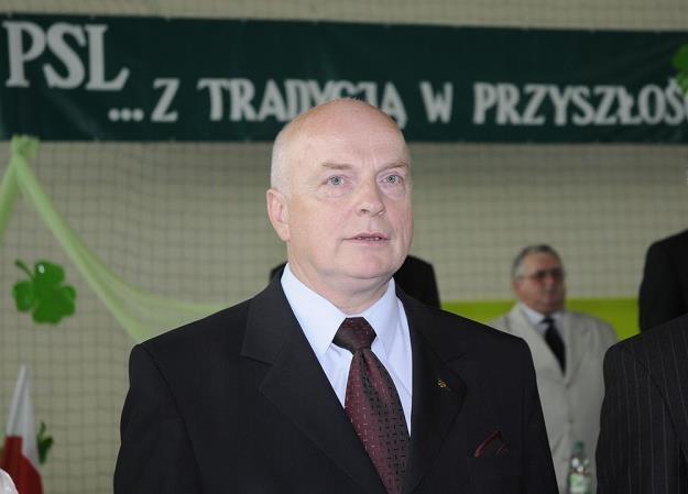 Andrzej Gross, szef ARiMR. Fot. Tomasz Szatkowski /Reporter