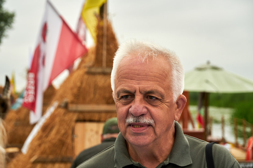 Andrzej Grygoruk był dyrektorem Biebrzańskiego Parku Narodowego przez 3,5 roku /Anatol Chomicz /Agencja FORUM