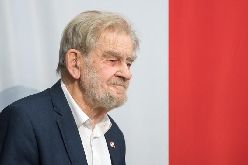 Andrzej Gwiazda /Wojciech Strozyk/ /PAP