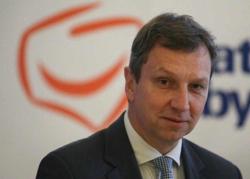 Andrzej Halicki: Ordynację wyborczą będzie można zmienić dopiero w przyszłym parlamencie /Michał Dyjuk /Reporter