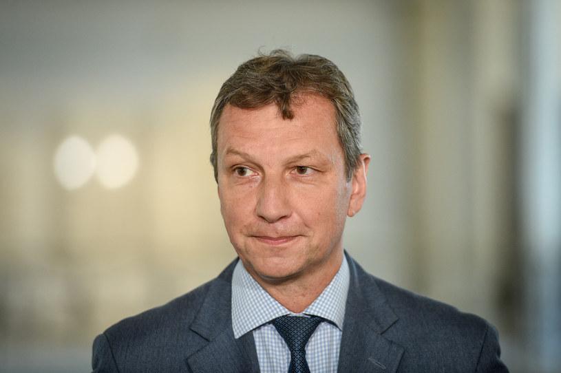 Andrzej Halicki skomentował rezolucję ws. wraku Tu-154M /Jacek Dominski/REPORTER /Reporter