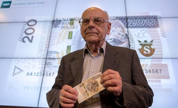 Andrzej Heidrich, twórca polskich banknotów. Fot. Andrzej Iwańczuk /Reporter