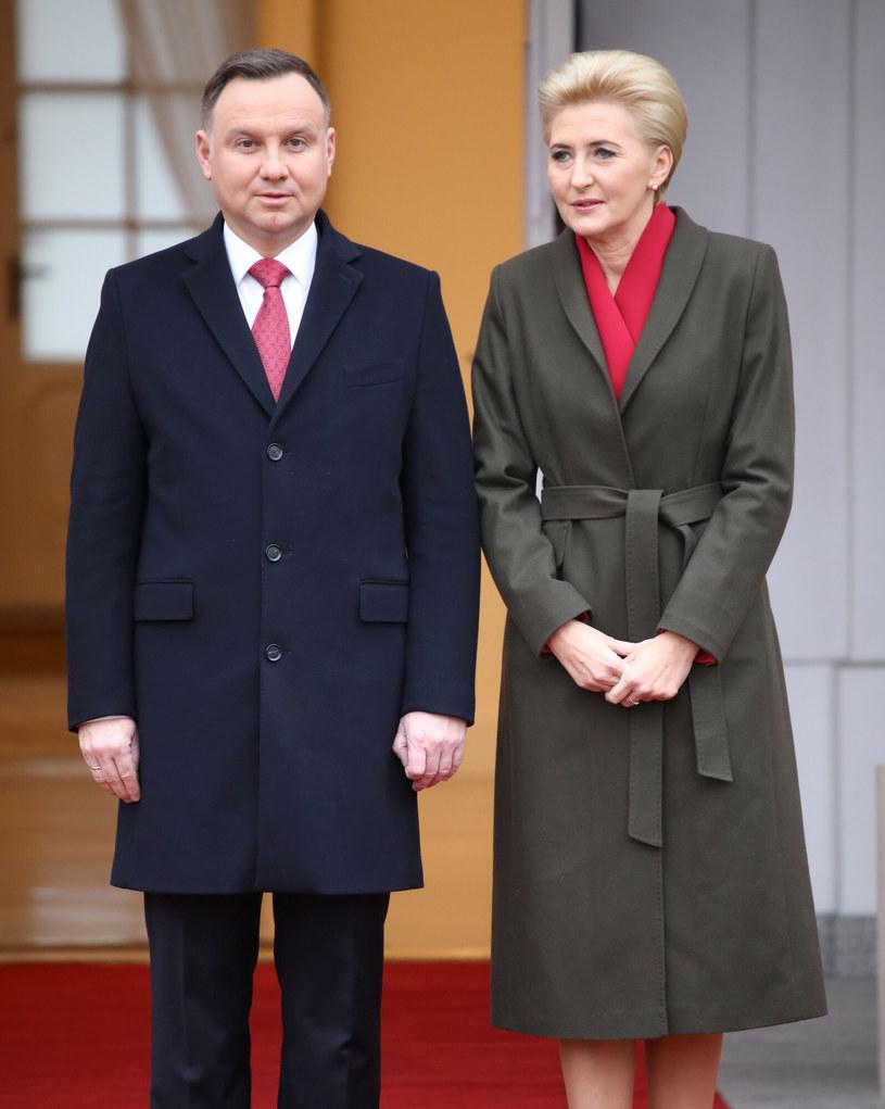 Andrzej i Agata Duda /Piotr Molecki /East News