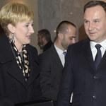 Andrzej i Agata Dudowie wprowadzili się do Pałacu Prezydenckiego! Czekali na to długo