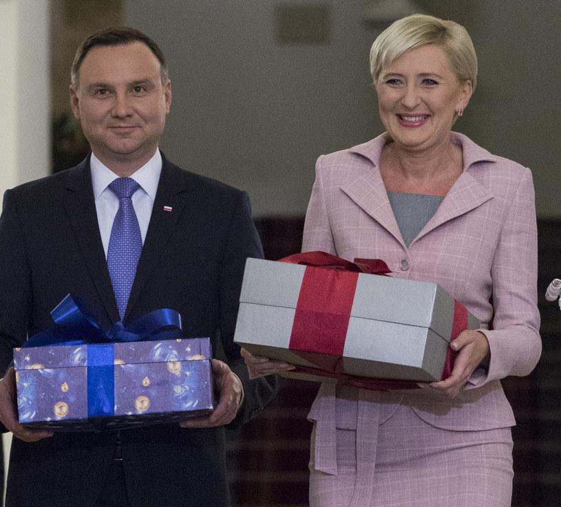 Andrzej i Agata Dudowie /- /East News
