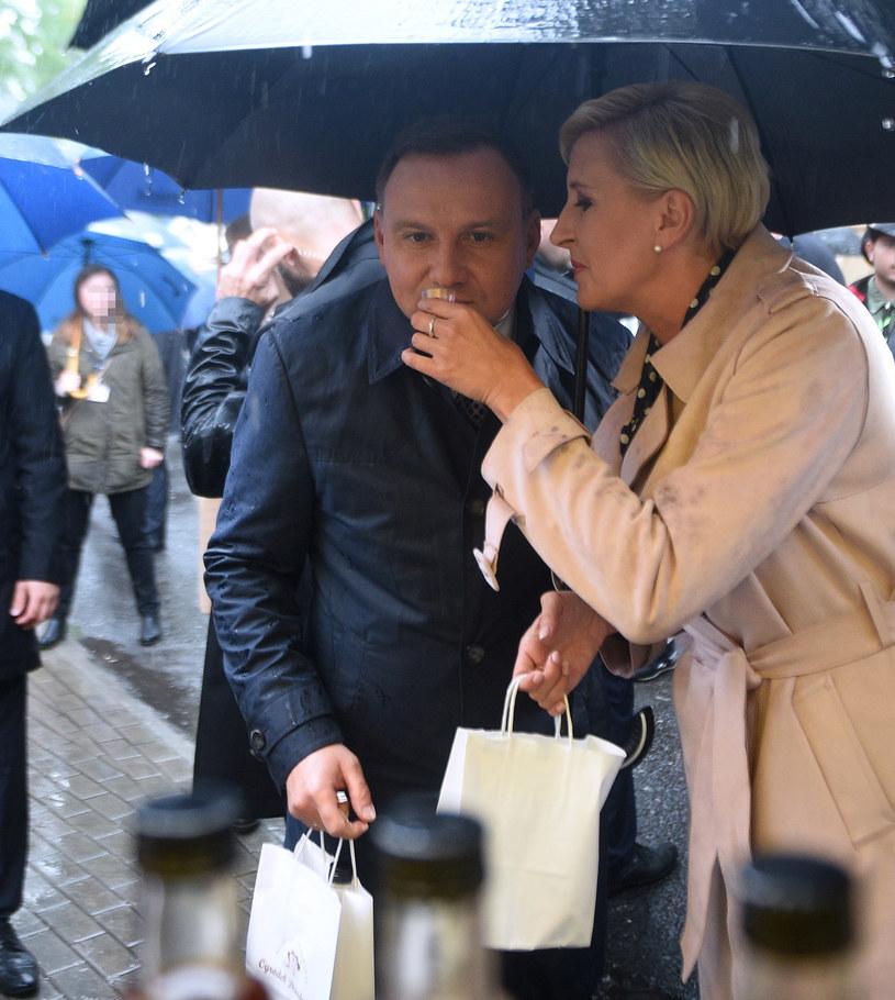 Andrzej i Agata Dudowie /Adam Chelstowski /Agencja FORUM