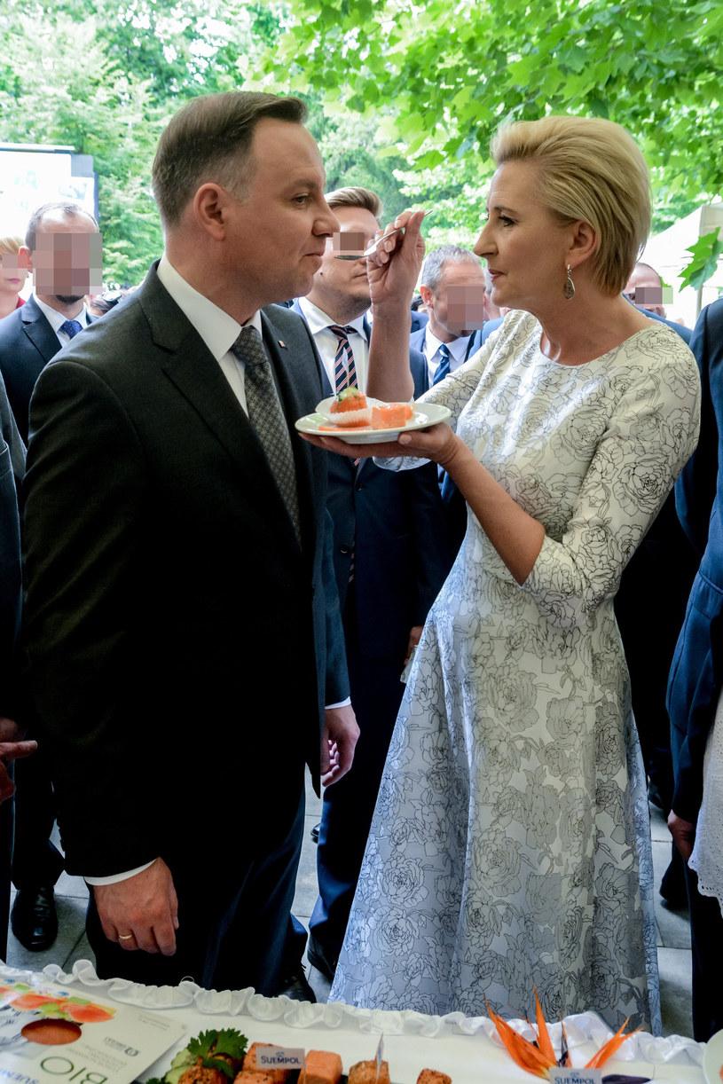 Andrzej i Agata Dudowie /Mariusz Gaczyński /East News