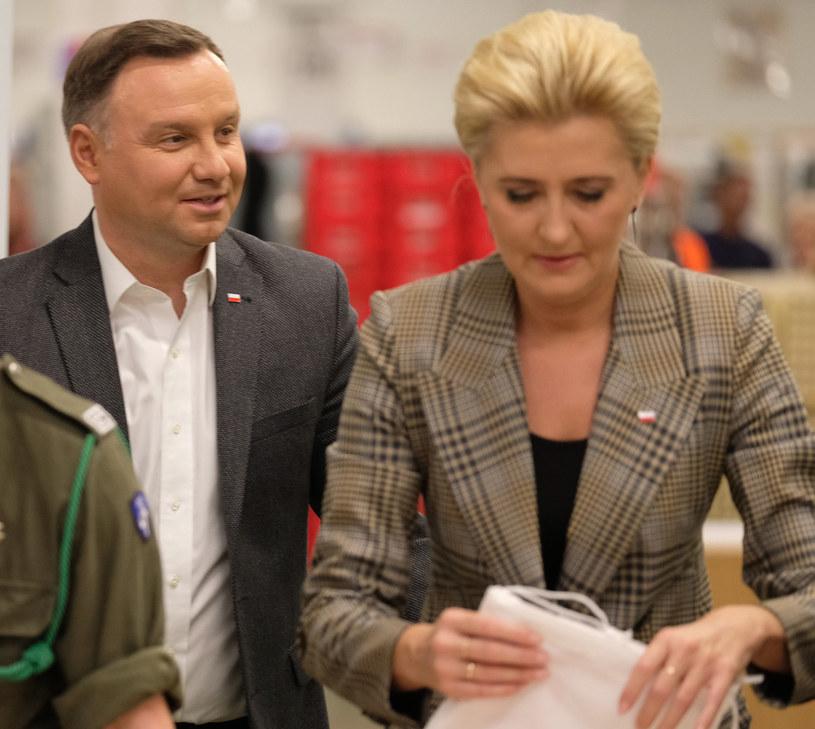 Andrzej i Agata Dudowie / Jacek Domiński /Reporter