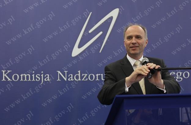 Andrzej Jakubiak, szef KNF. Fot. Jacek Waszkiewicz /Reporter
